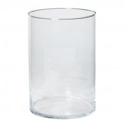 Glazen kaarsen pot