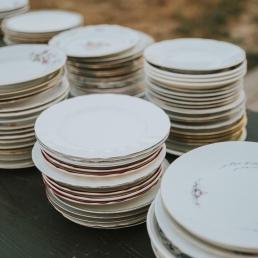 Huren van dessertborden