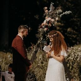 Huur een backdrop voor ceremonie