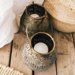 Oosterse kaarsenpot