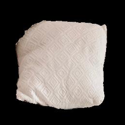 Kussen patroon wit