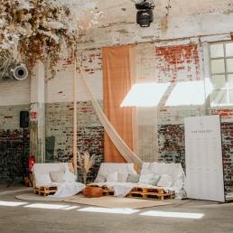 Houten lounge